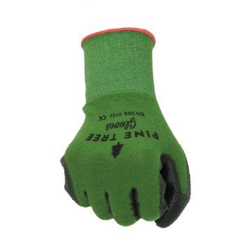 Bamboo Work & Gardening Gloves for Women & Men, Best Protective Second Skin Working Glove in Small, Medium, Large and XL (Small)