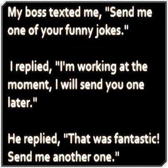 Jokes About Work