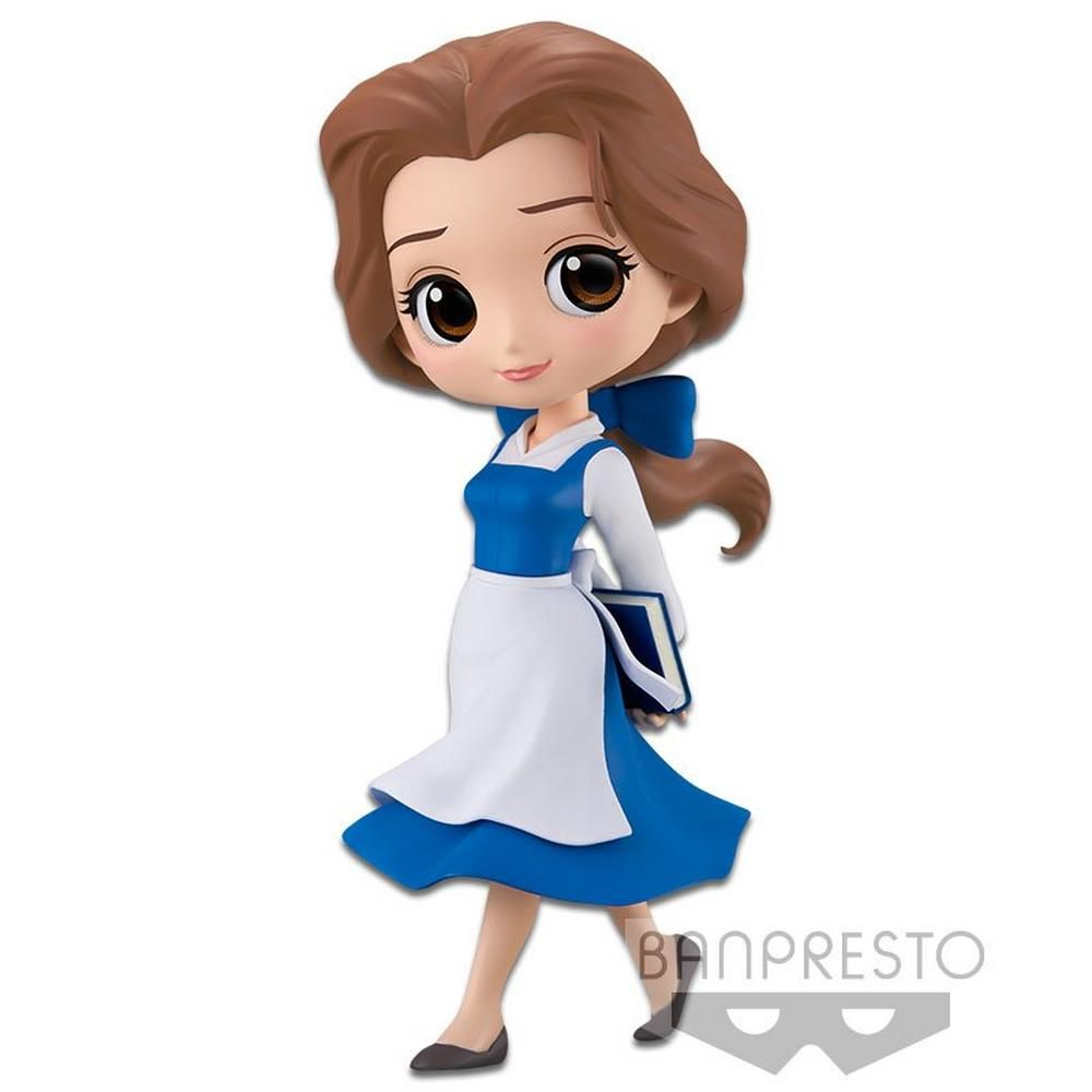 Q Posket Disney Princess Beauty /& Beast Belle Country Style Display Figurie New