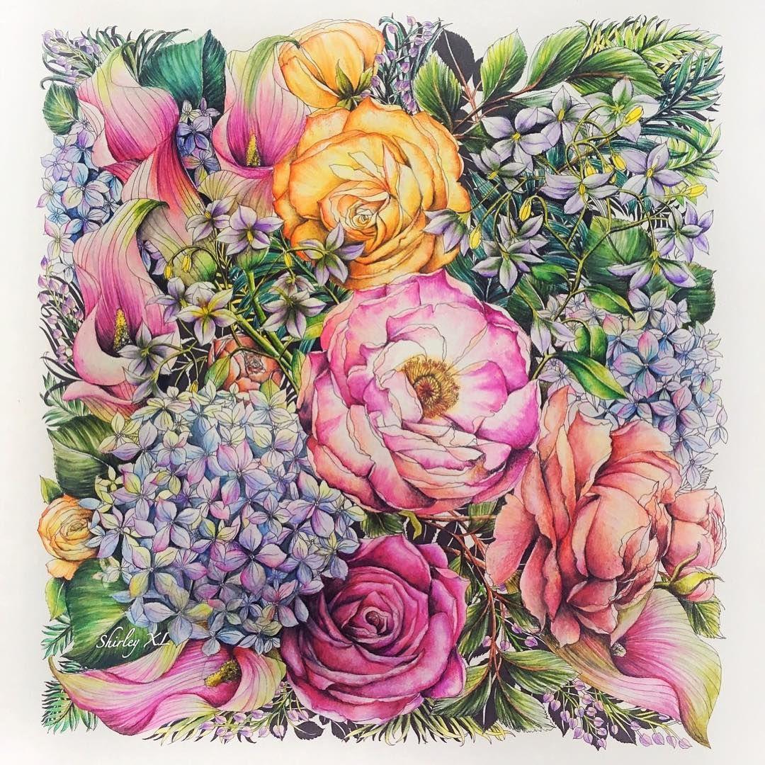 Pin de Magdolna Hegyiné en LARA   Pinterest   Colorear, Flores y ...