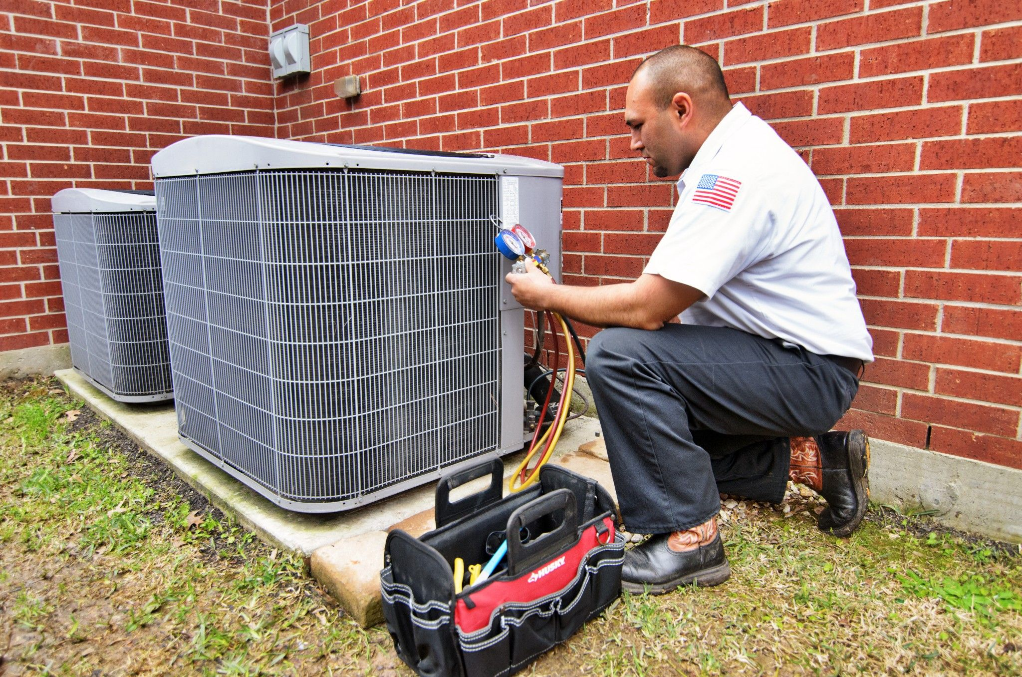 In buildings such as hotels, HVAC systems are normally