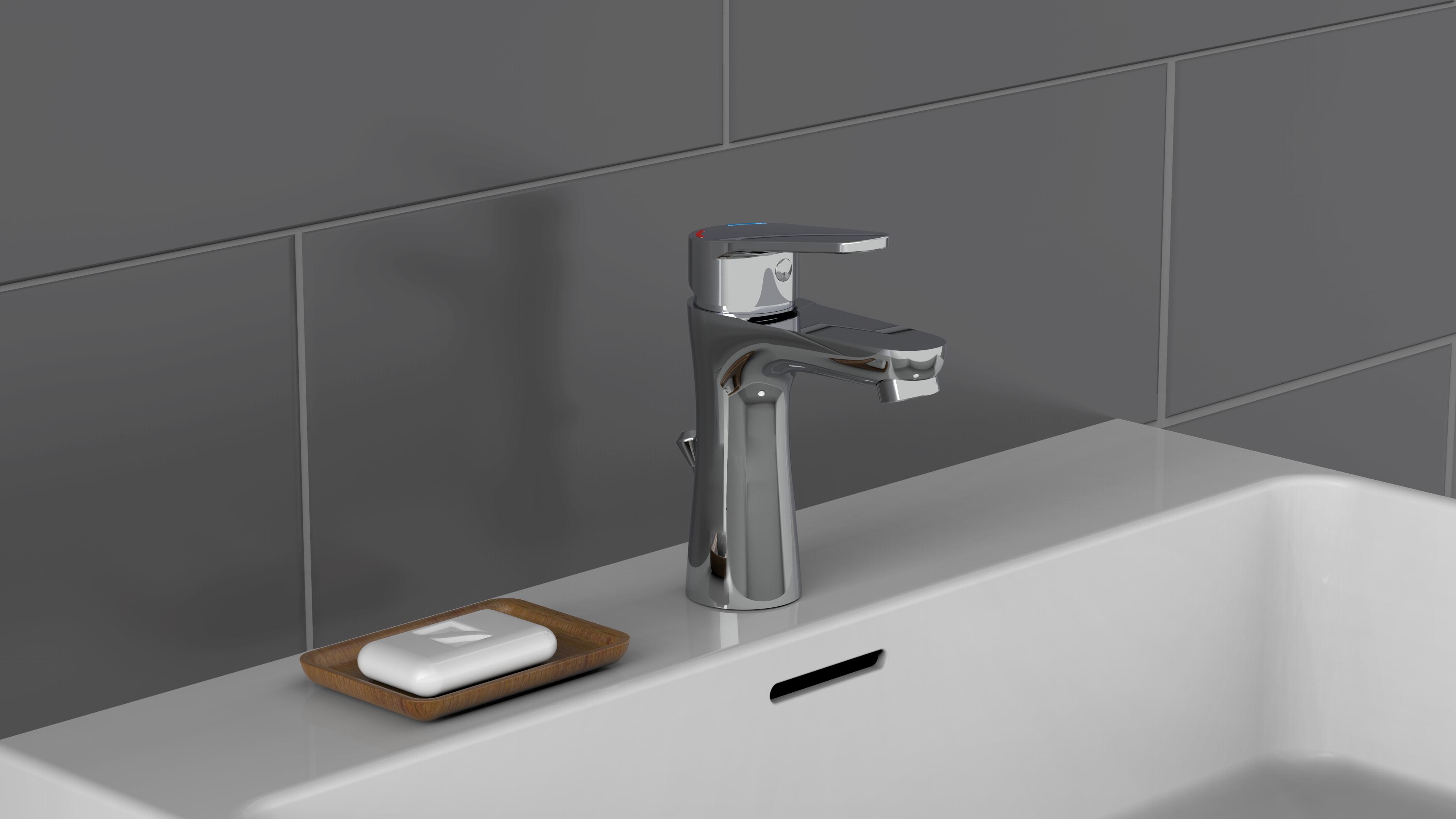 Waschtischarmatur Pico Wasserhahn Mischbatterie Einhebelmischer Eco In 2020 Waschtischarmatur Wasserhahn Badezimmer