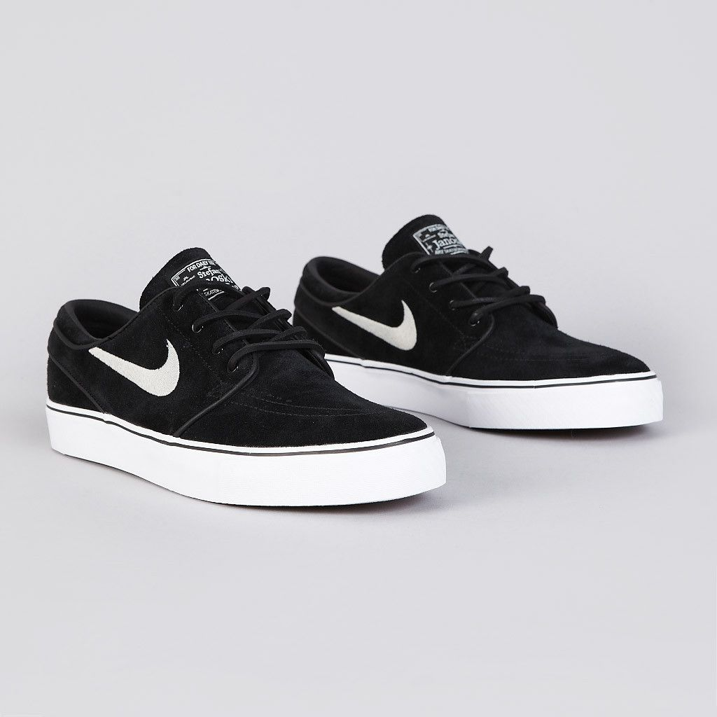d0404701e1f Nike SB Stefan Janoski OG Shoes - Black   White - Gum Light Brown in ...