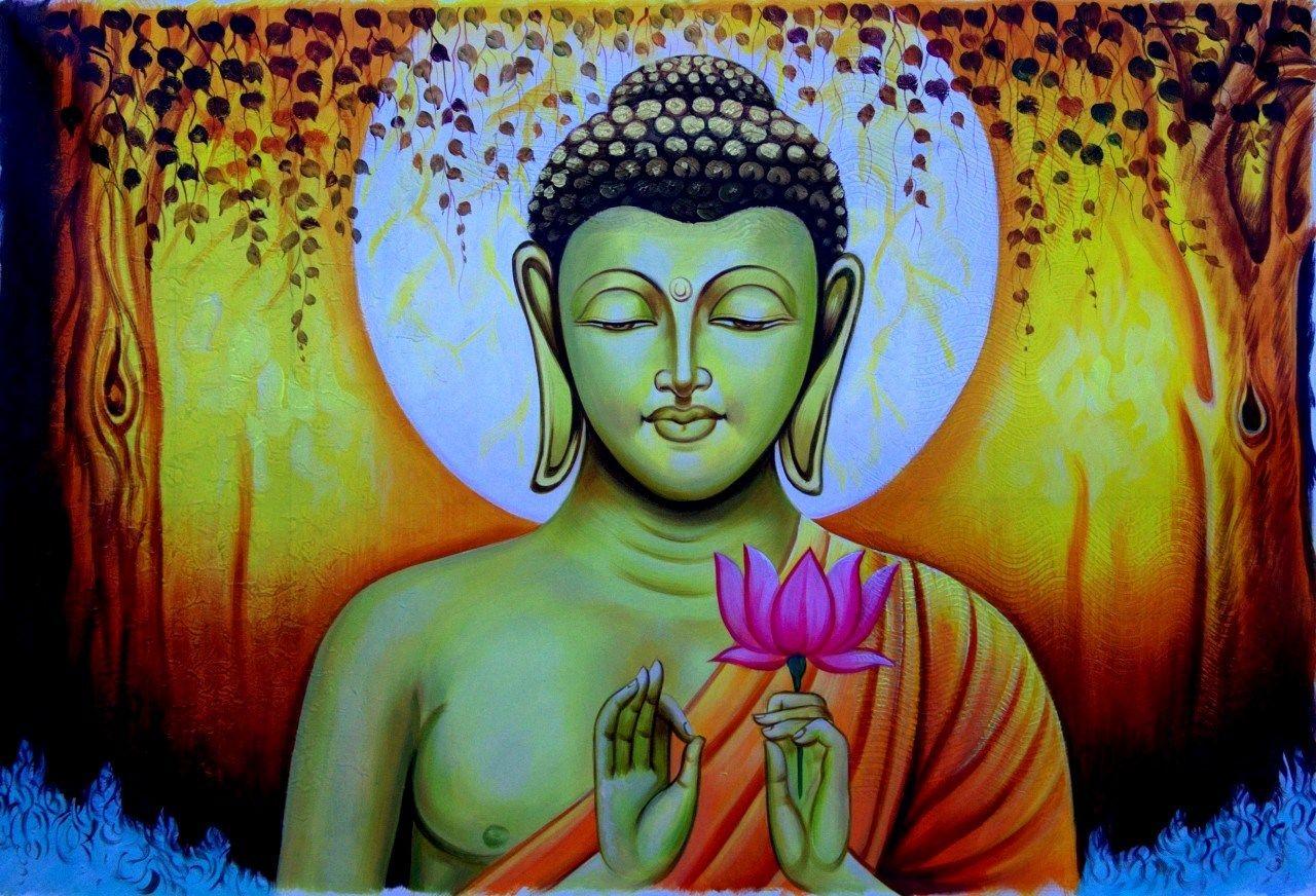 How to Bless Buddha Images Yourself | Buddha painting, Buddha ...