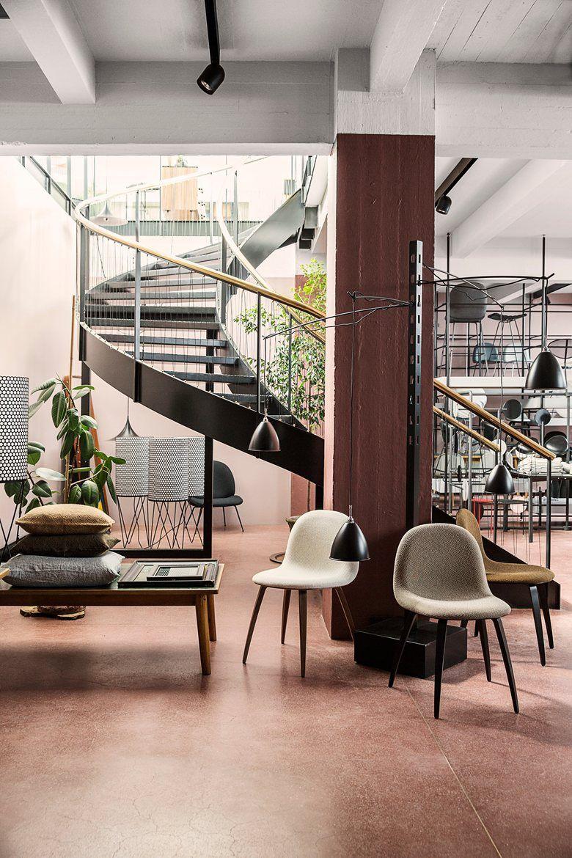 GUBI Store, Copenaghen, 2014 - Gubi #staircases