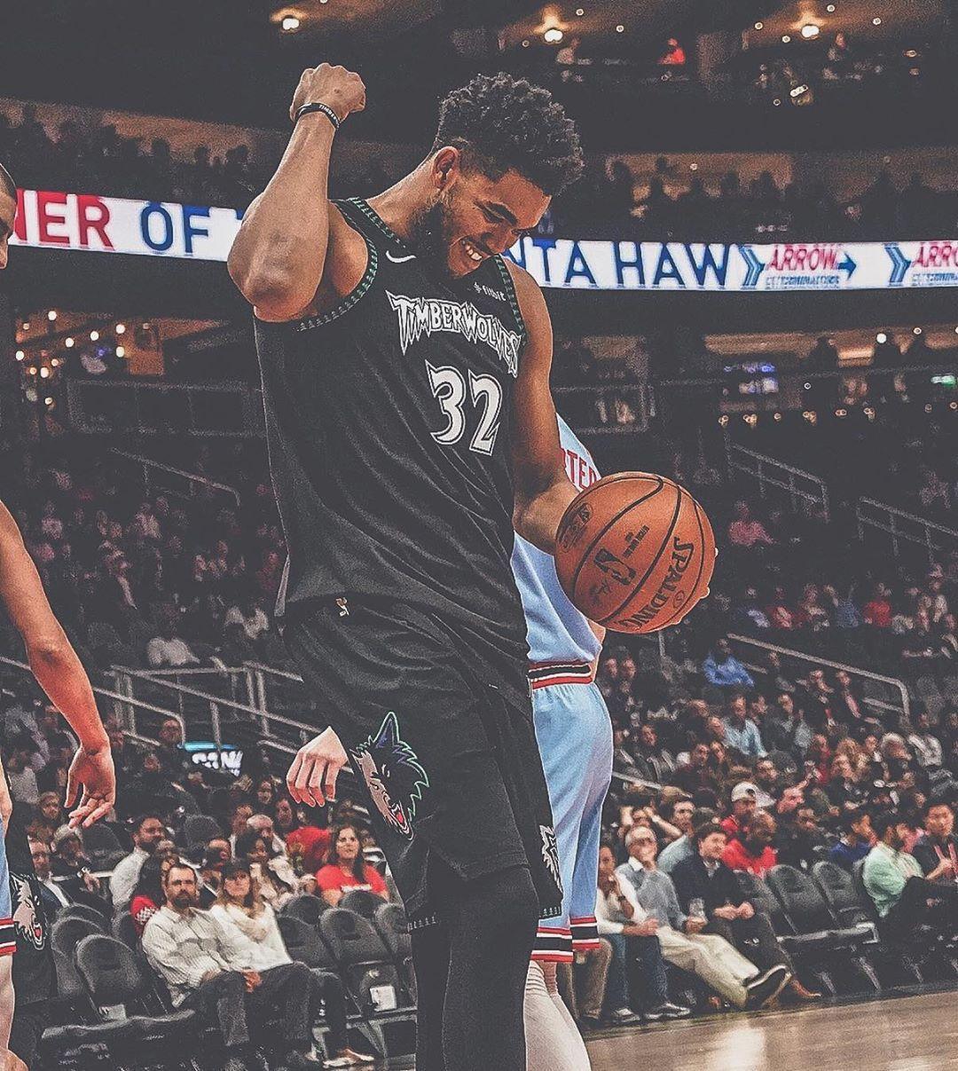 Minnesota Timberwolves On Instagram The Big Meow Minnesota Timberwolves Minnesota Basketball