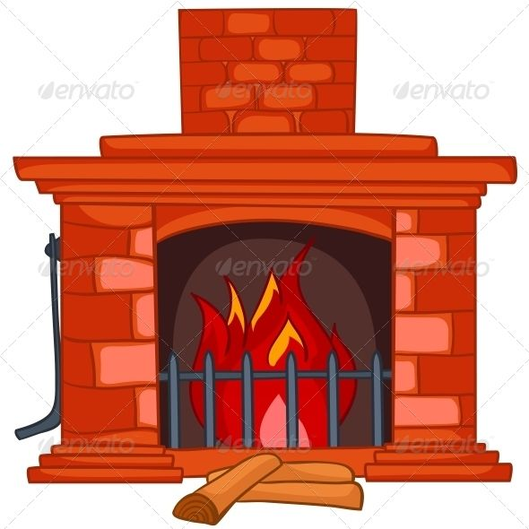 Cartoon Home Fireplace Fireplace Drawing Home Fireplace Fireplace