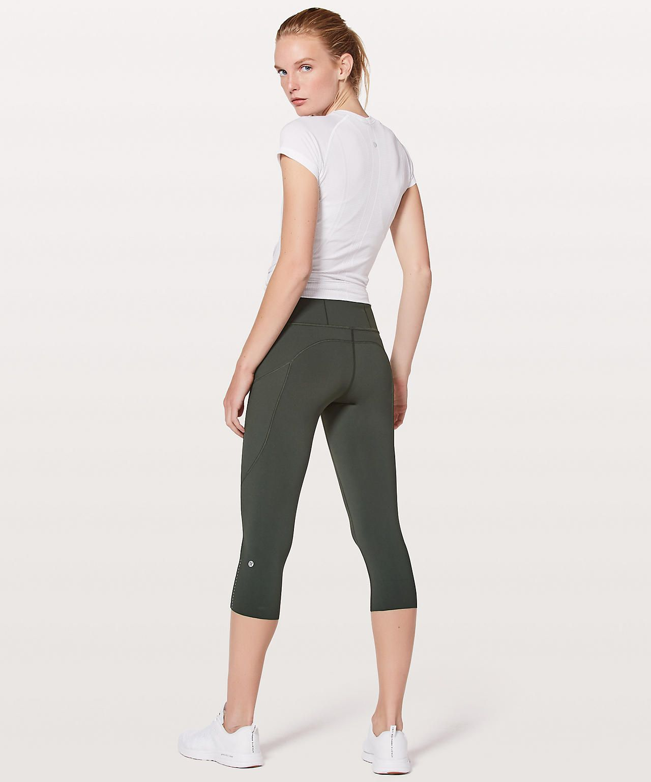 3c2ed2741e evergreen Free Crop, Lululemon Athletica, Quick Dry, Evergreen, Bermuda  Shorts, Active
