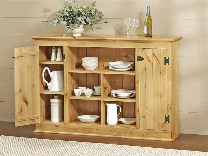 Country Sideboard Woodworking Plan from WOOD Magazine Wood Projects in 2019 Woodworking