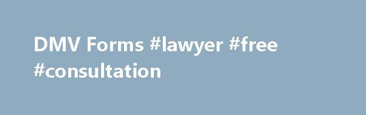 DMV Forms #lawyer #free #consultation http\/\/attorneyremmont - dmv release form