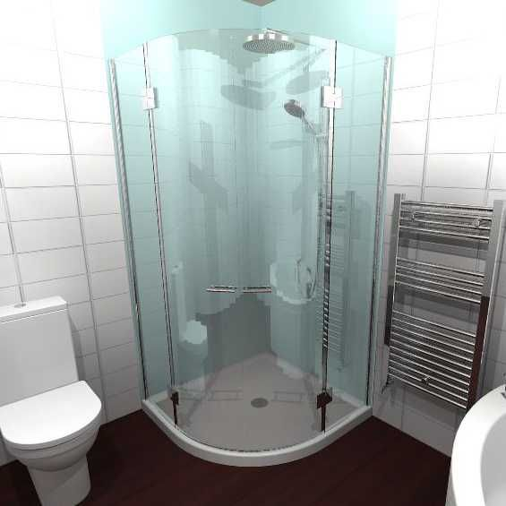 Wetwall Acrylic Shower Panel Green Mist 2400 X 900mm Shower Panels Shower Bathroom