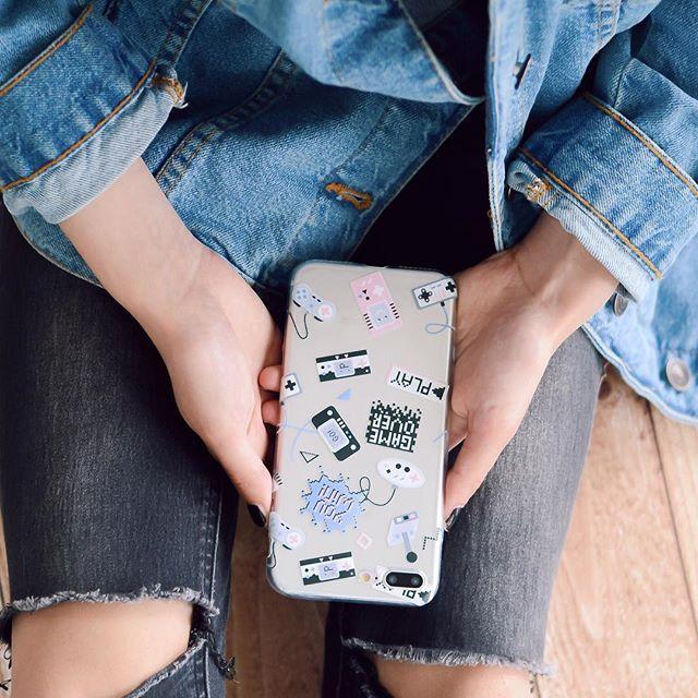 Game over!!! 🎮Disponibile per tutti i modelli di telefono 📱!!! Visita il nostro sito 👉www.mycase-online.it👈#mycaseitaly #phonecase #cover #games
