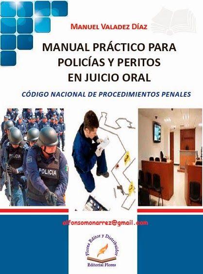manual practico para policias y peritos en juicio oral pdf