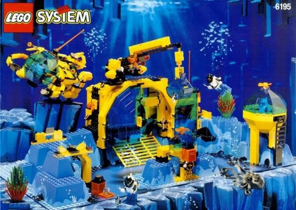 Lego Set 6195 1 Neptune Discovery Lab Building Instructions And Parts List Classic Lego Lego System Lego Sets