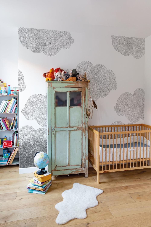 Papier Peint Chambre Enfant Modeles Pour Fille Et Garcon
