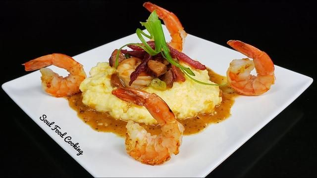Shrimp and Grits Recipe - How to make Shrimp and Grits -