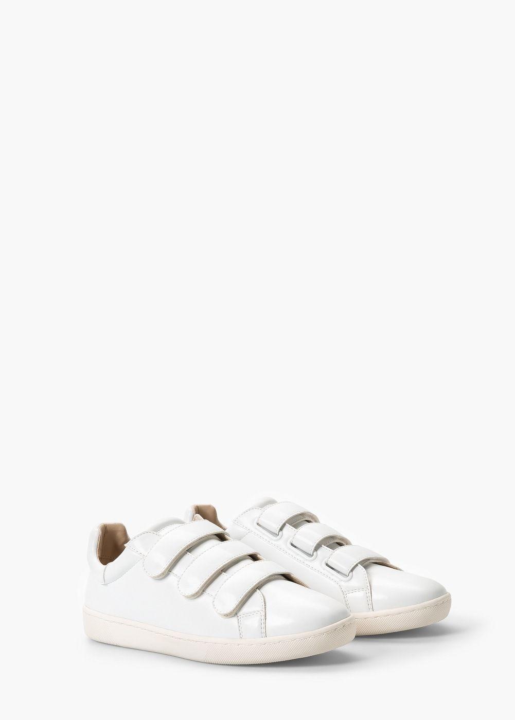 Sportschuhe Mit Klettverschluss Damen Mango Deutschland Sneakers Womens Sneakers Me Too Shoes
