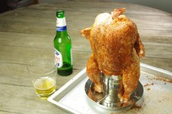 Beer Can Chicken |  #ClassicAmericanRecipes #BeerCanChicken #WhiskCarolina
