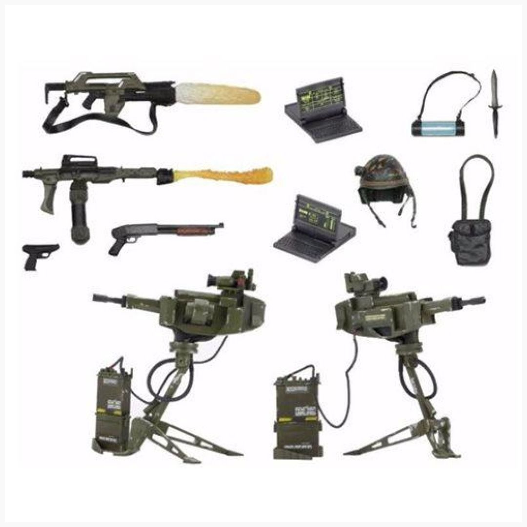 ALIENS ACCESSORY PACK ALIEN USCM ARSENAL WEAPONS PACK DELUXE MARINE PACK TOY