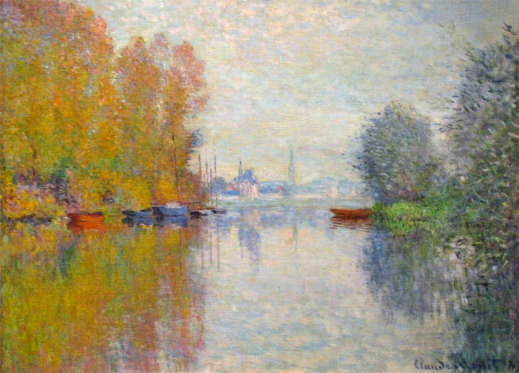 The Sheltered Path Claude Monet Wikipaintings Org Art