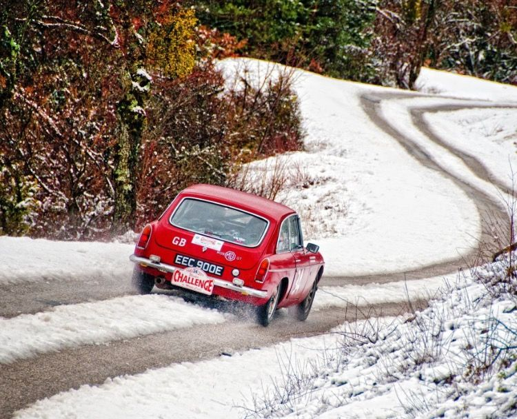 MGB GT Historic Rally
