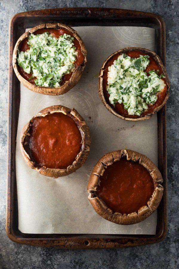 Really nice recipes. Every hour. — Lasagna Stuffed Portobello Mushrooms (Freezer to...