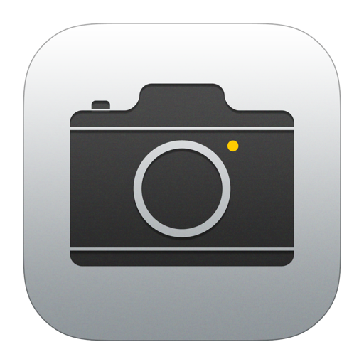 Camera Icon iOS 7 PNG Image Sol majeur