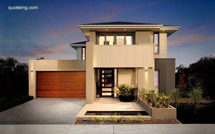 Residencia contemporánea fachada compuesta por volúmenes