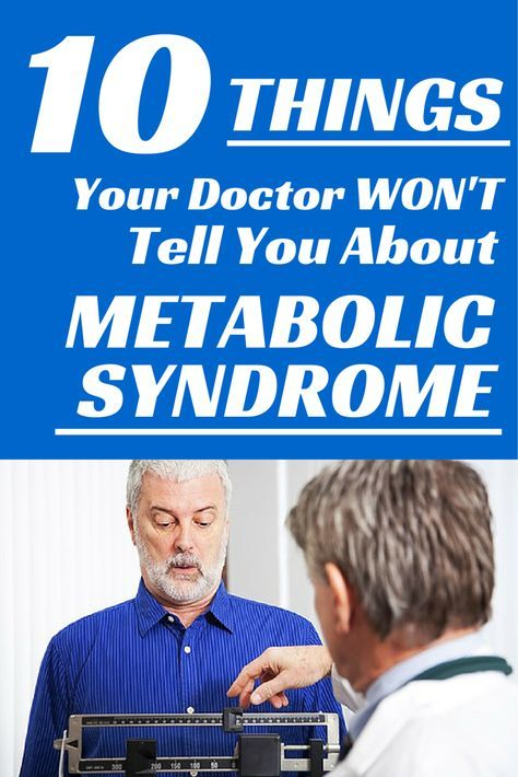 Metabolic Syndrome: 10 Things You Need To Know About Your