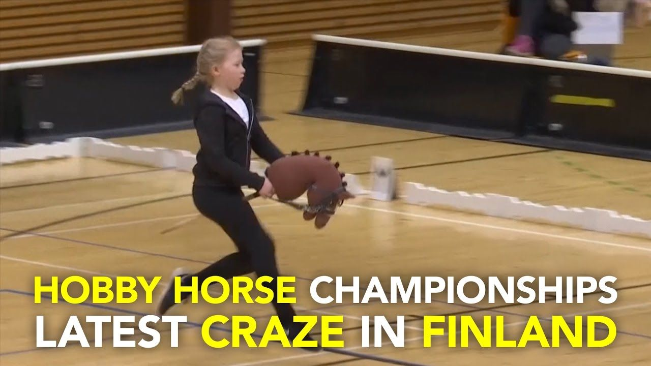 Hobby Horse Championships latest craze in Finland