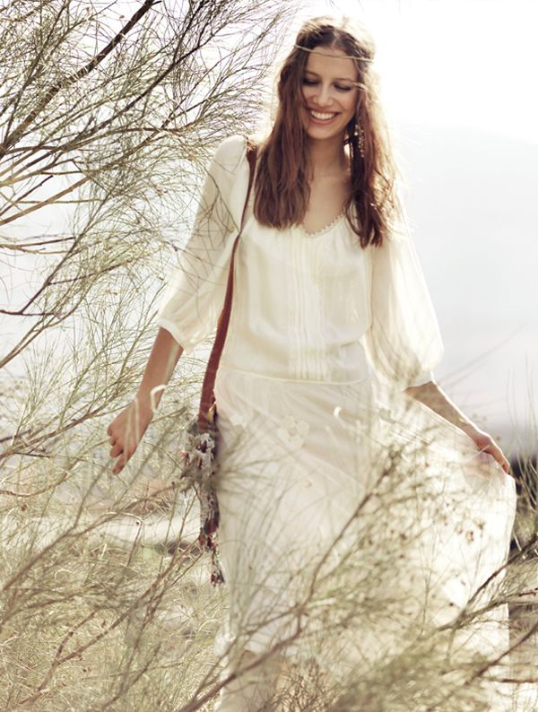 Hippie wedding dresses not white images