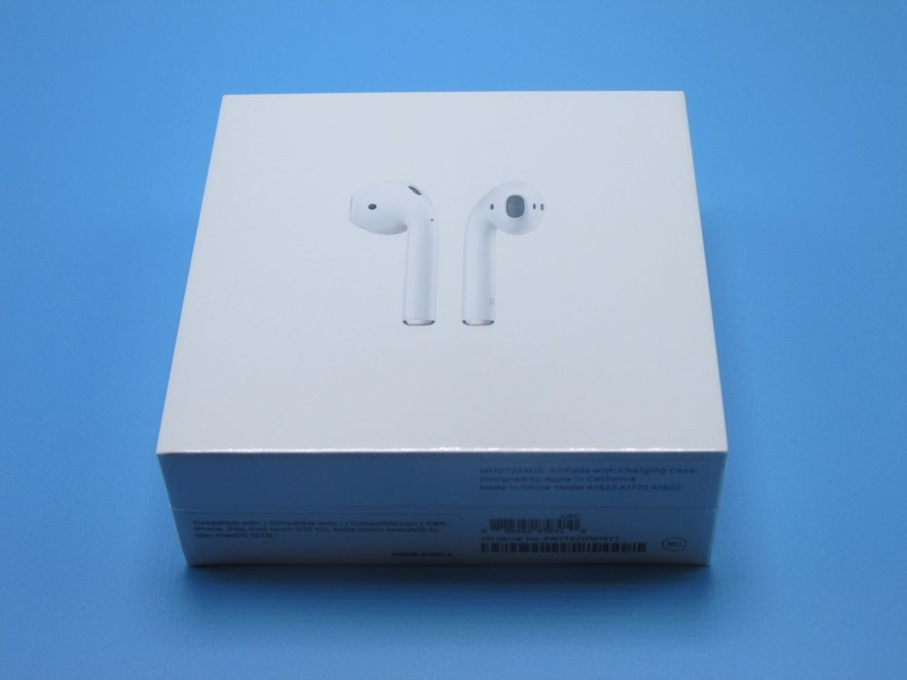 Brand New Apple Airpods Wireless Headphones Unopened Apple Ebay Wireless Headphones Apple