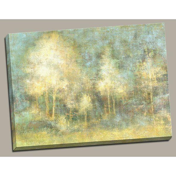 Portfolio \'Woodland\' Large Framed Printed Canvas Wall Art ...