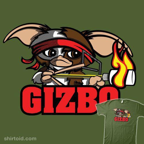 gizbo gizmo rambo gremlins shirts pinterest gremlins