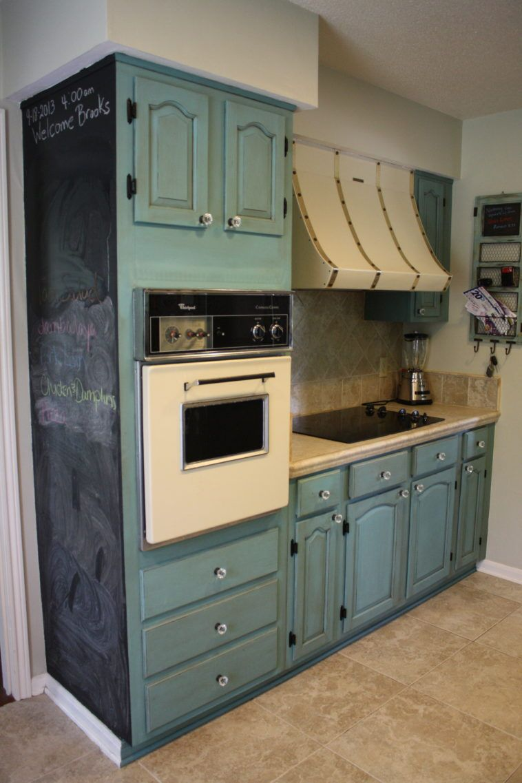 Rustic Cook Top Hood Feat Painting Kitchen Cabinet With Duck ...