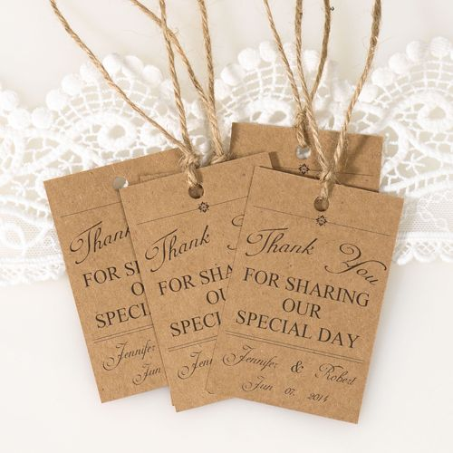 Wedding Favor Tags Messages : vintage themed wedding favor tags thank you cards EWFR025 Wedding ...
