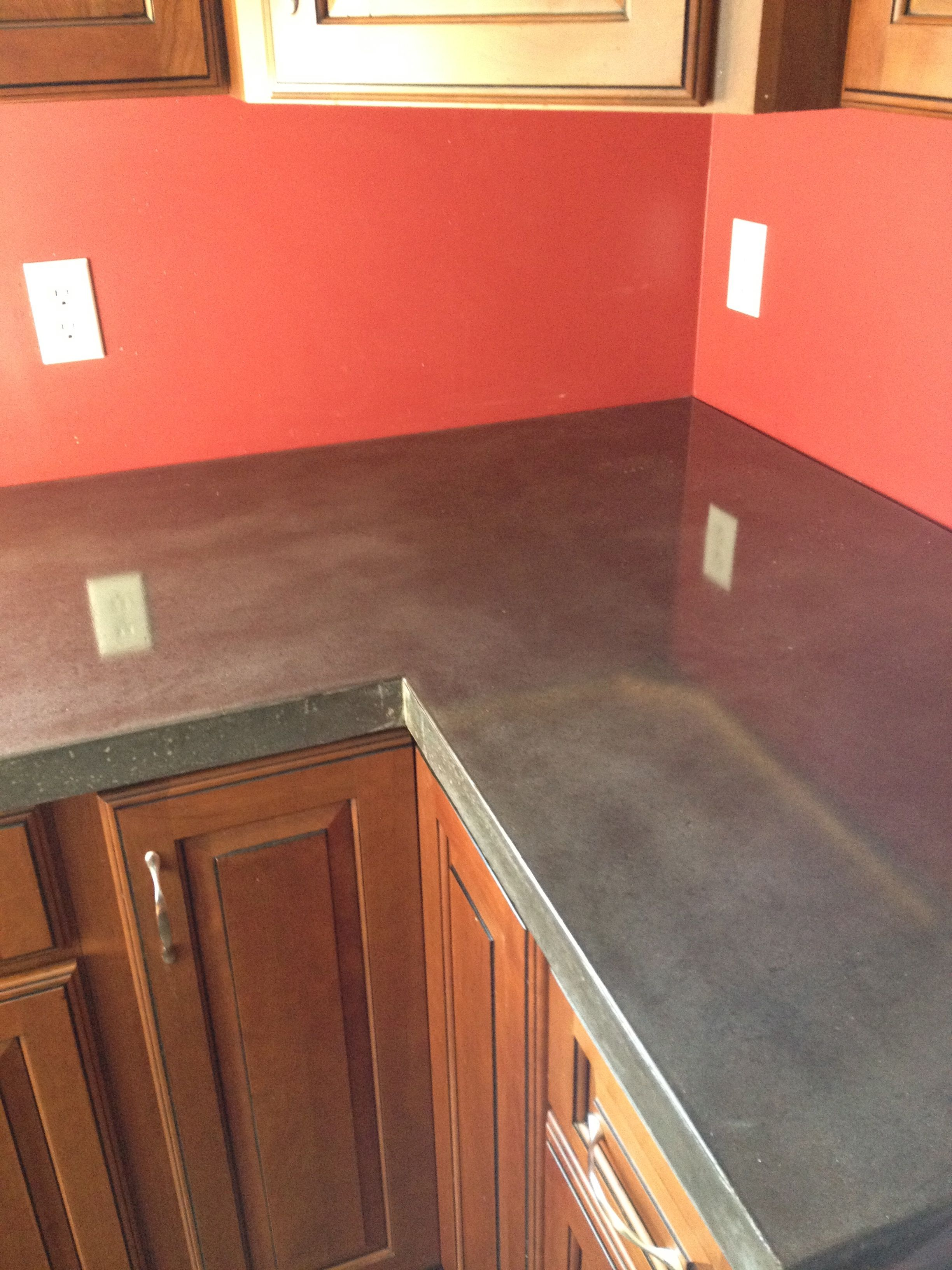 Perfect Polished Concrete Countertops | Decorative Concrete Of Virginia (VA)