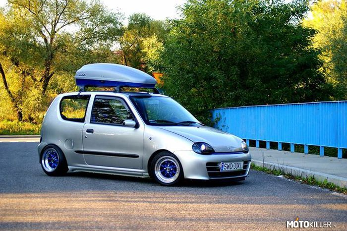 fiat seicento tuning polish cars pinterest fiat. Black Bedroom Furniture Sets. Home Design Ideas