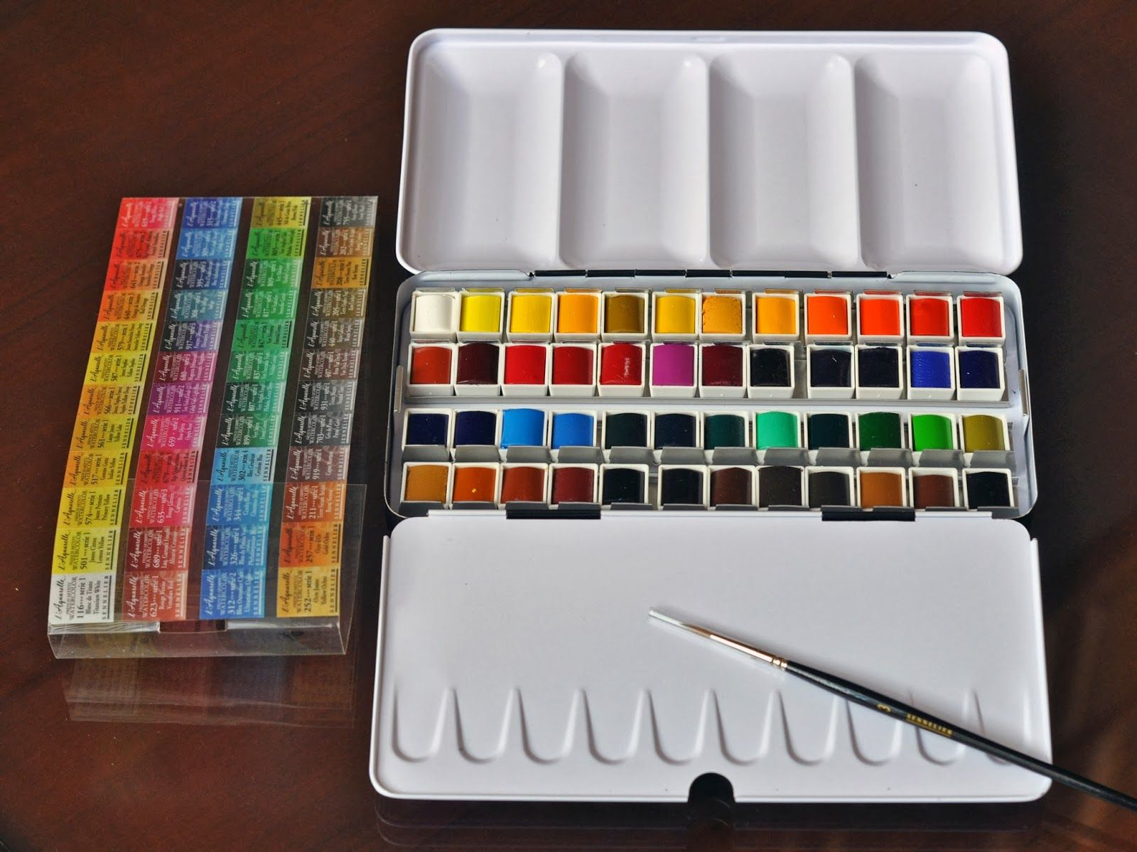 Sennelier Water Colour Set With Images Paint Sets French