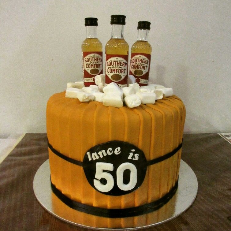 50th Birthday Liquor: Alcohol And Cake Are Two Of My Favourite Things! Southern