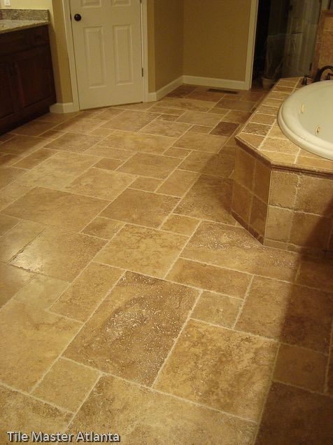 Definitely Like This For Floor Maybe Use Large Square For Shower - Big square floor tiles