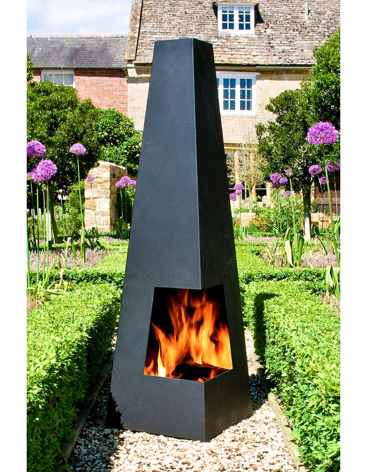 beautiful Costco Chimeneas Part - 13: £120 La Hacienda Black Steel Chimenea | View all Outdoor | ASDA direct