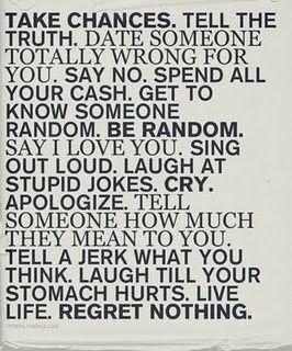 Words of Wisdom ... Words of Wisdom ... Words of Wisdom ...