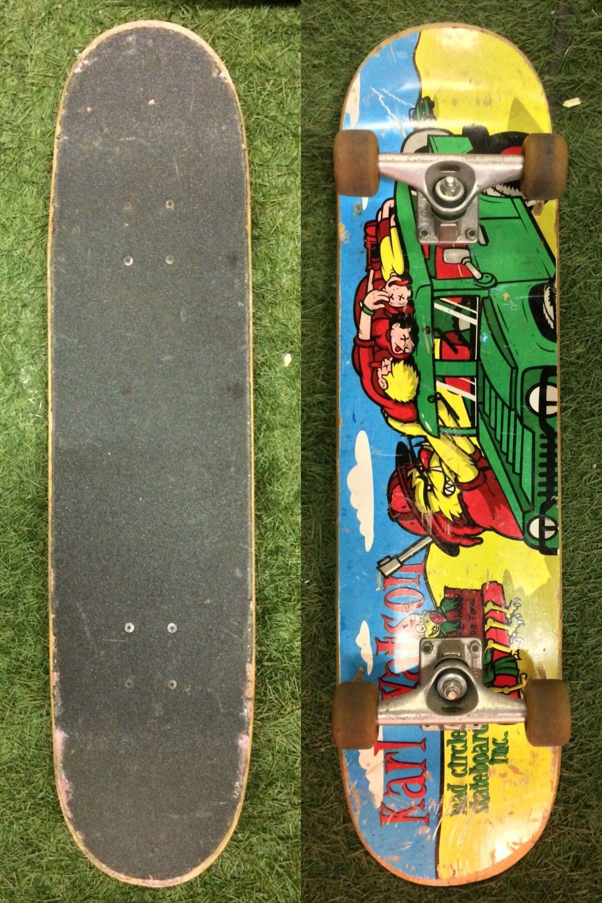 Mad Circle Skateboard Inc Karl Watson Independent Trucks With
