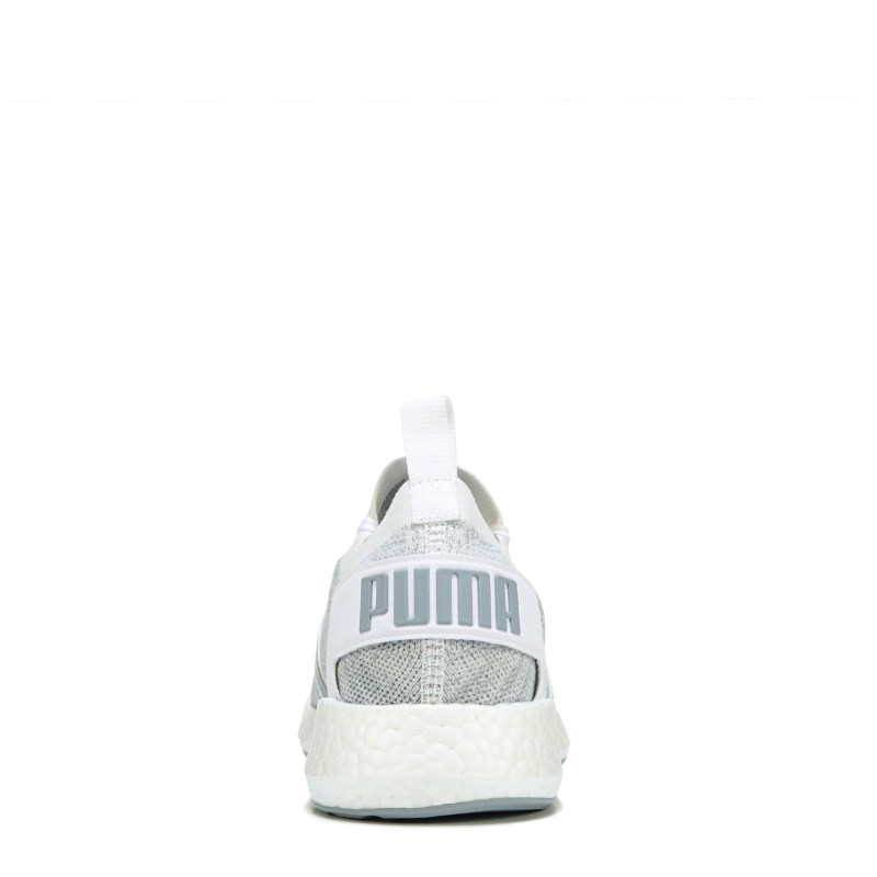 Puma Men s Neko Engineered Knit Sneakers (Grey White) 0d80f70b8
