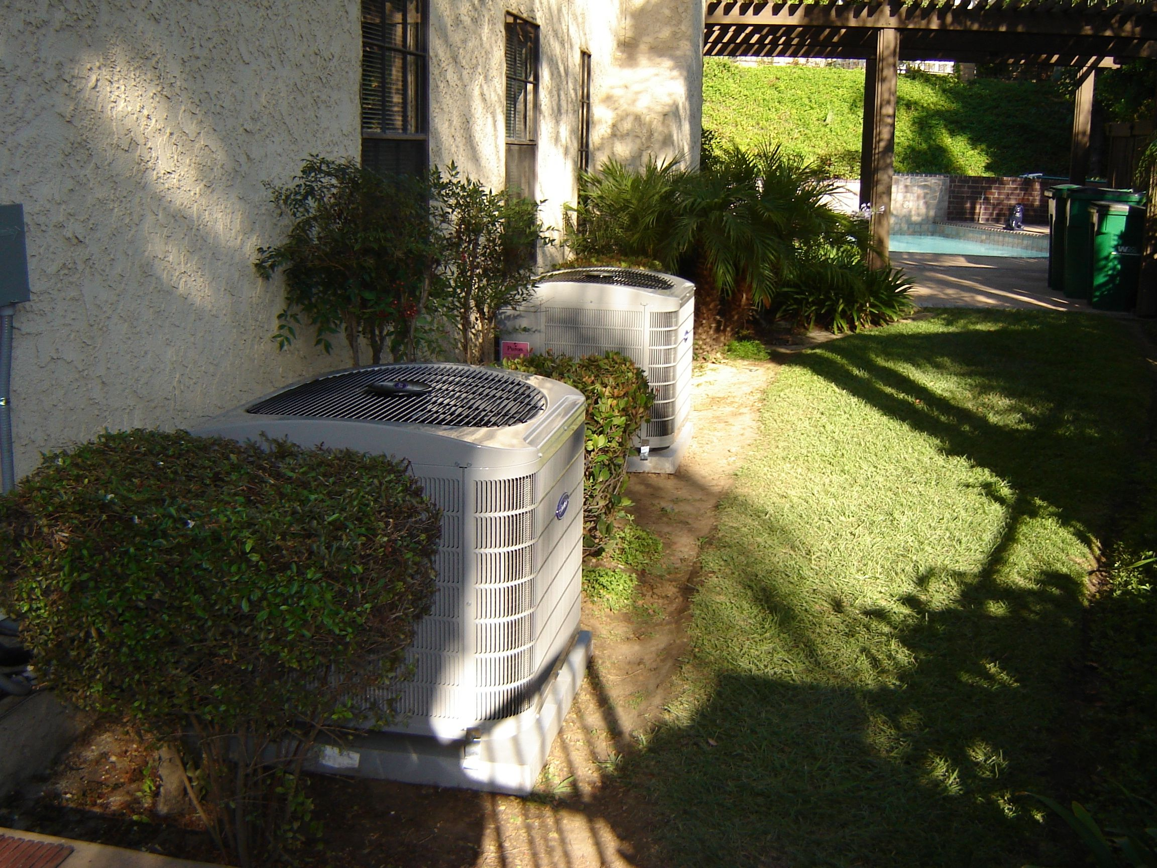 Dual Carrier ACA Condensers Installation, Condensation