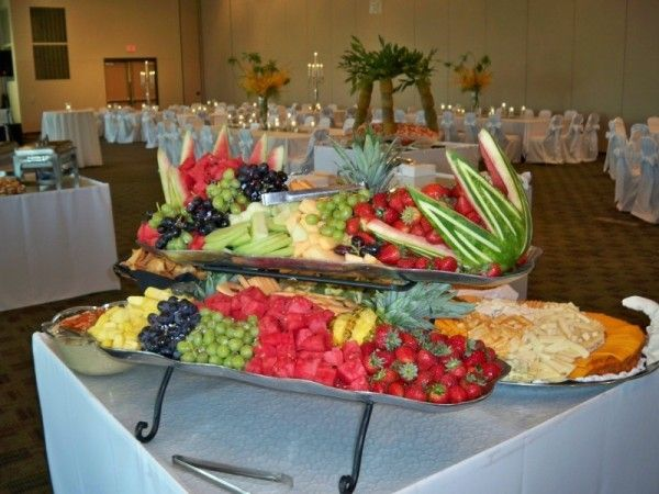 Reception Ideas For Fruit Cheese Buffet Food Displays Fruit