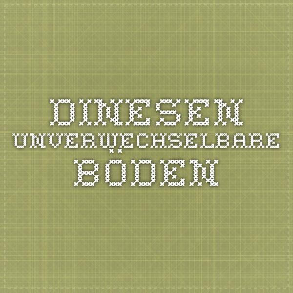 Dinesen - Unverwechselbare Böden