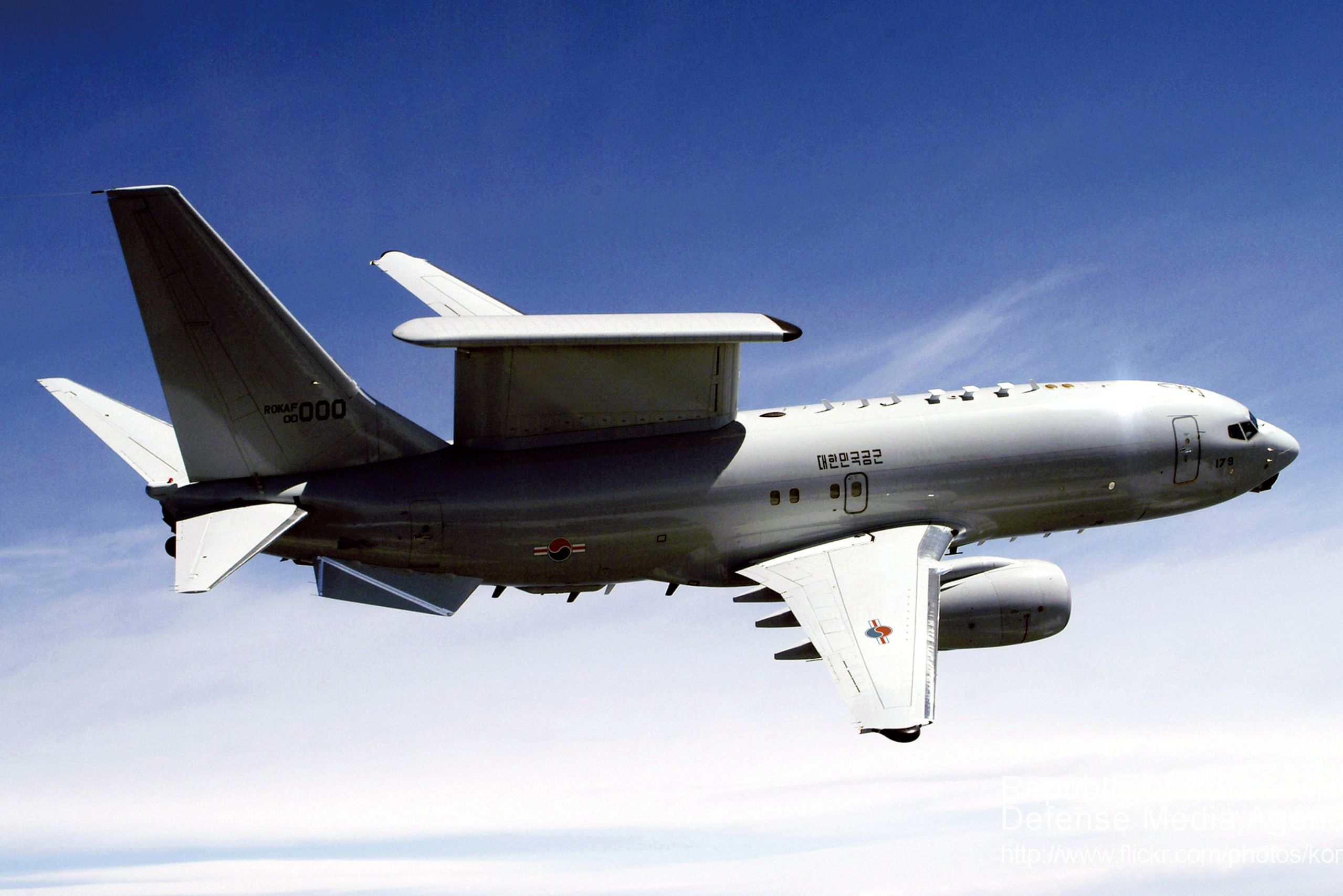 Airborne early warning and control with a Boeing 737 AEW&C
