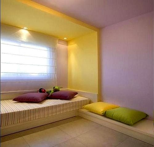 Complementary Color Scheme Room: Green Purple Yellow Split Complementary Color Scheme